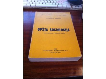 Opšta sociologija Danilo Ž Marković