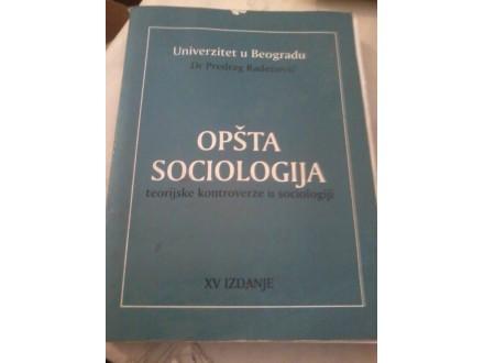 Opšta sociologija - dr Predrag Radenović