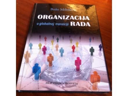 Organizacija u globalnoj tranziciji rada Božo Milošević
