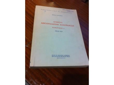 Osnovi aerodinamičkih konstrukcija drugi deo Nenadović