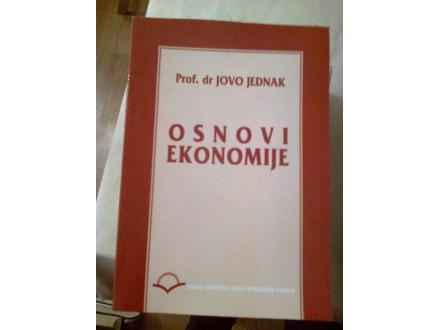 Osnovi ekonomije - prof dr Jovo Jednak