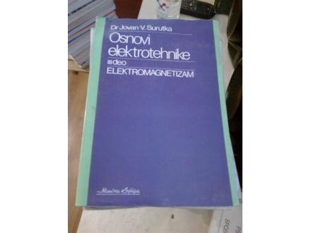 Osnovi elektrotehnike III deo - dr Jovan V. Surutka