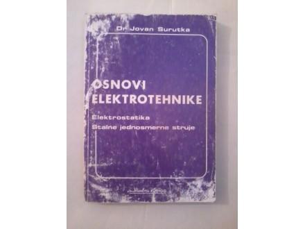Osnovi elektrotehnike - dr Jovan Surutka