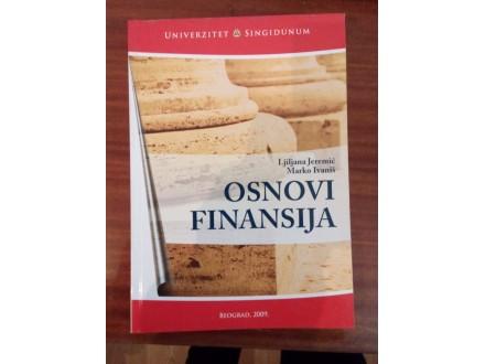 Osnovi finansija - Jeremić Ivaniš