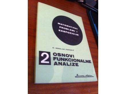 Osnovi funkcionalne analize 2 Bogoljub Stanković