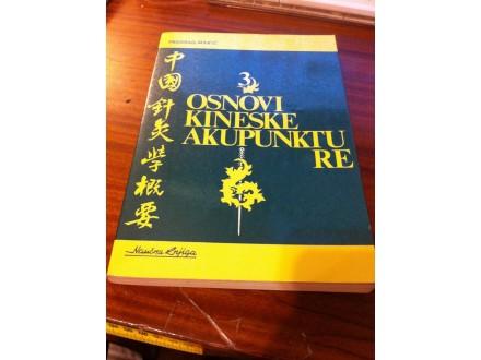 Osnovi kineske akupunkture Predrag Marić