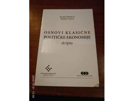 Osnovi klasične političke ekonomije skripta Medojević