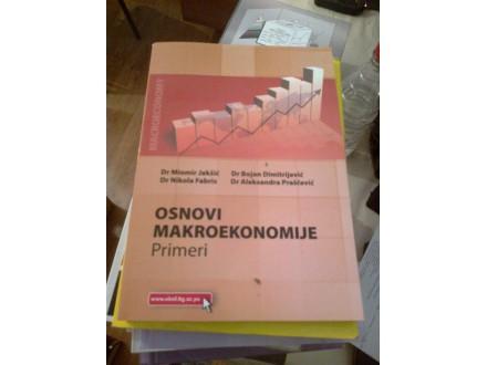 Osnovi makroekonomije - primeri - Jakšić Dimitrijević