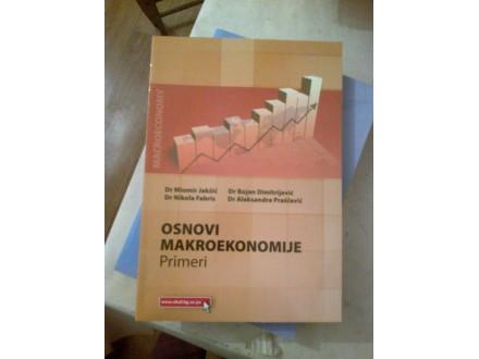 Osnovi makroekonomije primeri Jakšić Dimitrijević