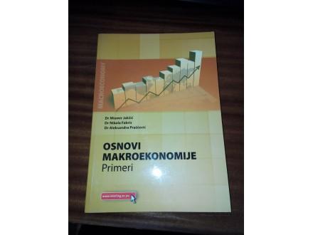 Osnovi makroekonomije primeri - Jakšić Fabris Praščević