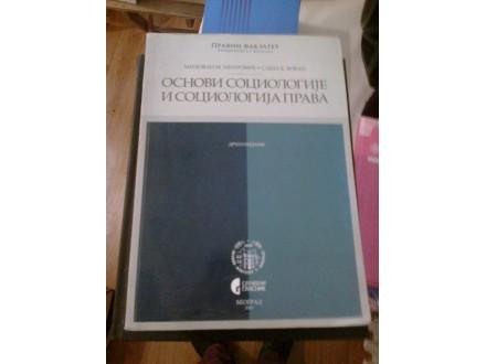 Osnovi sociologije i sociologija prava - Mitrović Bovan