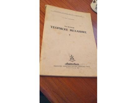 Osnovi teoriske mehanike V Ivan Arnovljević