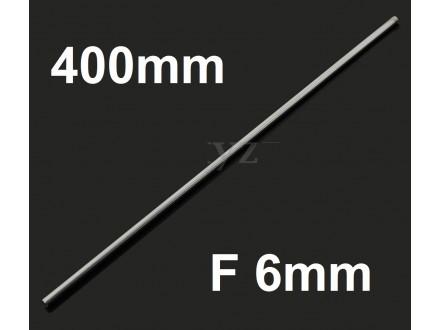 Osovina F6mm x 400mm - Vodjica za CNC i 3D