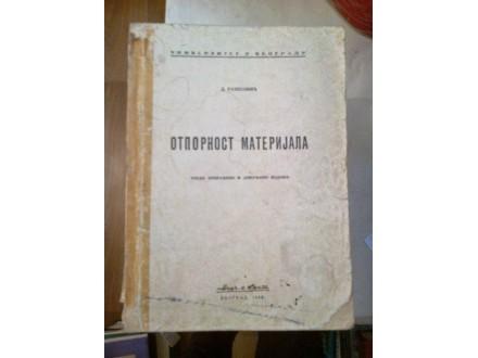 Otpornost materijala - D. Rašković