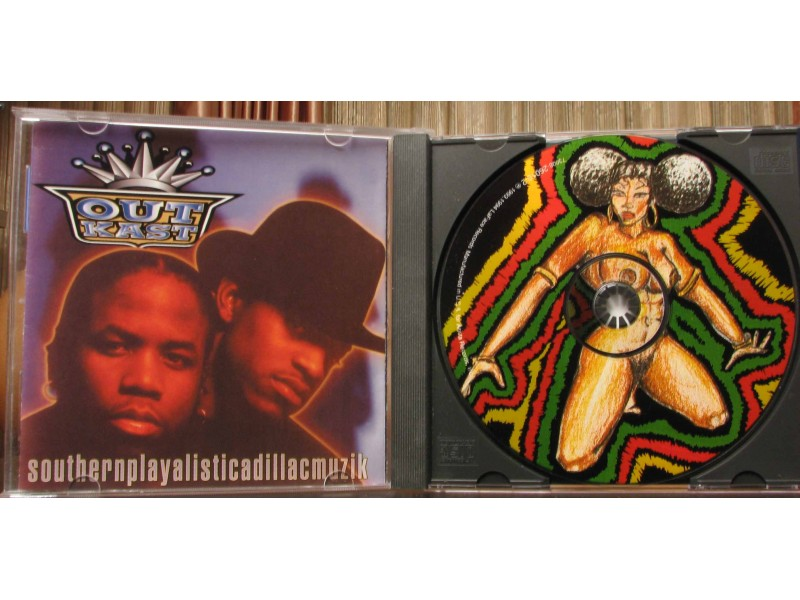 Pictures of Outkast Southernplayalisticadillacmuzik Cd Art