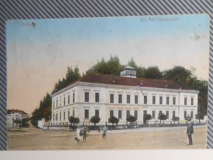 P O Ž E G A -KRALJEVA VEL.GIMNAZIJA 1910/20 (V-65)