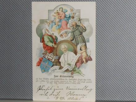 PAPA LEO XIII-LITOGRAFIJA  POPE LEO XIII.1810/1878