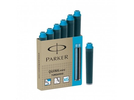 PARKER Quink ink tinta mini turquoise 50413