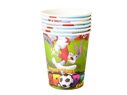 PARTY Looney Tunes Sport čaše 310723