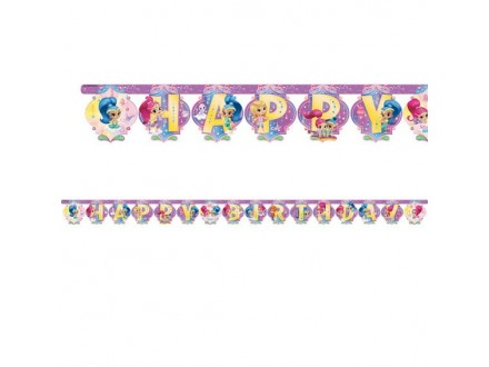 PARTY Shimmer and Shine baner 9902159