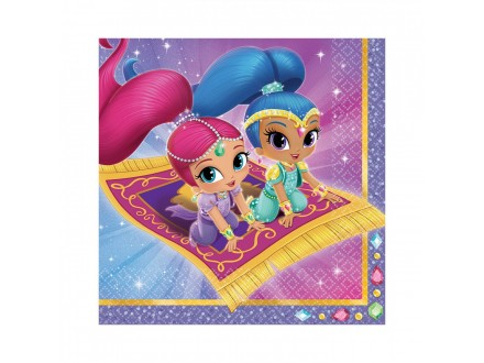 PARTY Shimmer and Shine salvete 9902155