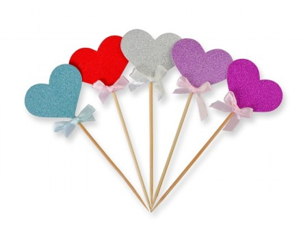 PARTY accesories sticky heart 137261
