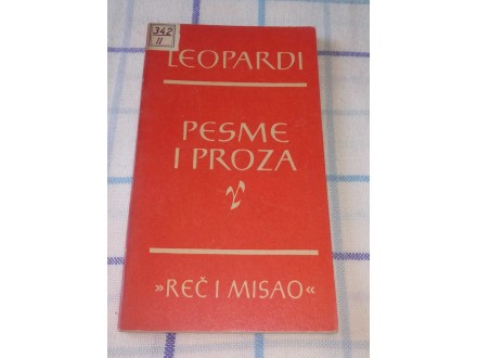 PESME I PROZA - Leopardi