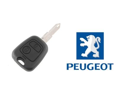 PEUGEOT kljuc sa dva dugmeta - 106, 205, 206, 306, 405