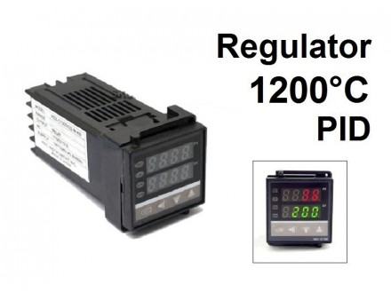 PID Termoregulator 1000°C - relej - 220V
