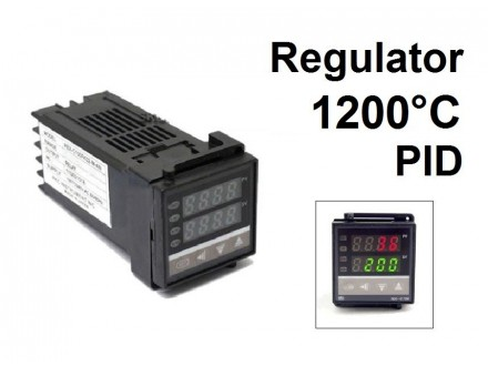PID Termoregulator 1200°C - SSR - 220V - Japan