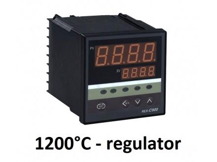 PID Termoregulator 1200°C - relej - 220V - REX-C900