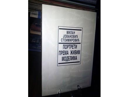 PORTRETI PREMA ŽIVIM MODELIMA - M.Jovanović Stoimirović