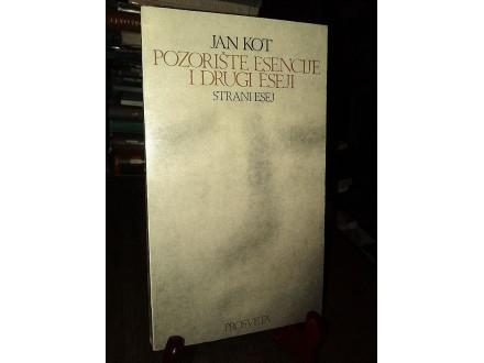 POZORIŠTE ESENCIJE i drugi eseji - Jan Kot