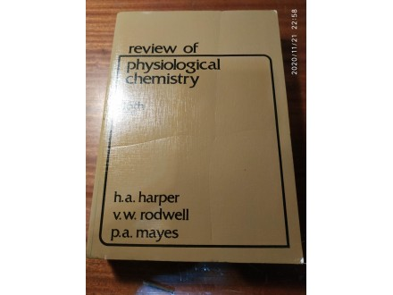 PREGLED FIZIOLOSKE HEMIJE - Harper, Rodwell, Mayes