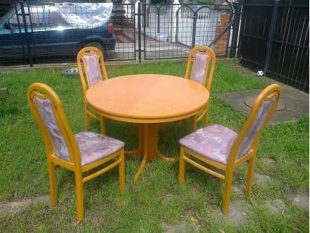 PRELEP trpezarijski sto i 4 stolica