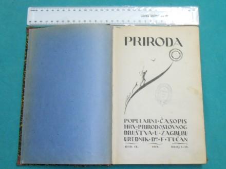 PRIRODA-ČASOPIS HRV.PRIRODOSLOVNOG DRUŠTVA U ZAG./K--66