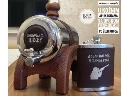 PROHROMSKI BURIĆI od 2 litra, gravure po želji kupca