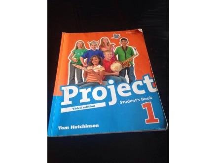 PROJECT 1 - komplet udžbenik + r.sveska + cd