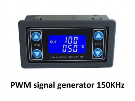 PWM signal generator do 150KHz sa LCD displejem ugradni