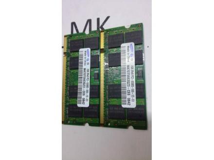 Packard Bell HERA C RAM Memorija 2x2Gb ddr2