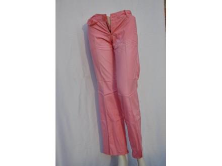 Pantalone zenske Cube u roze boji izbledele