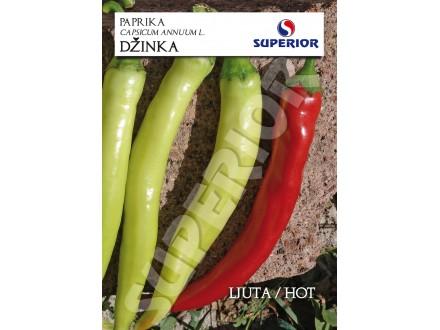 Paprika ljuta `Džinka`, 30 semenki