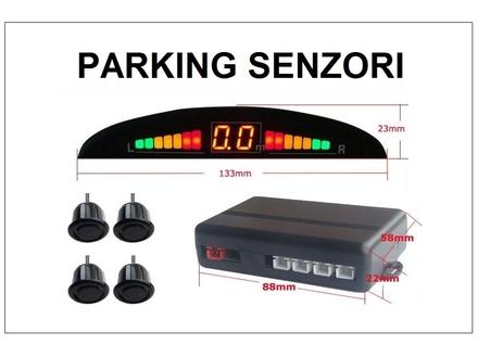 Parking senzori - univerzalni - crni