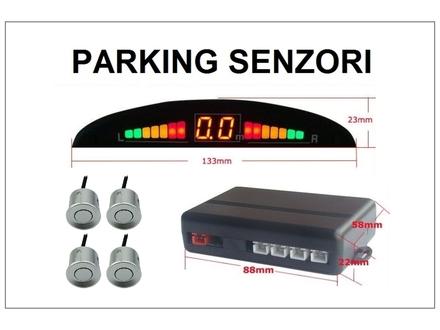 Parking senzori - univerzalni - silver