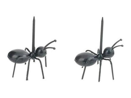 Party Picks - Ants, Set of 20 - Kikkerland