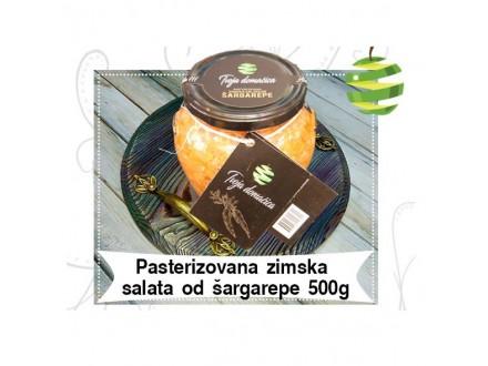 Pasterizovana zimska salata od šargarepe 500g