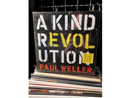 Paul Weller-A kind revolution