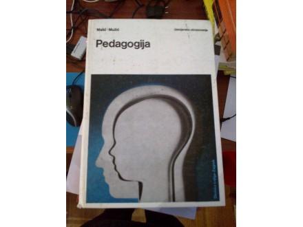 Pedagogija - Malić-Mužić