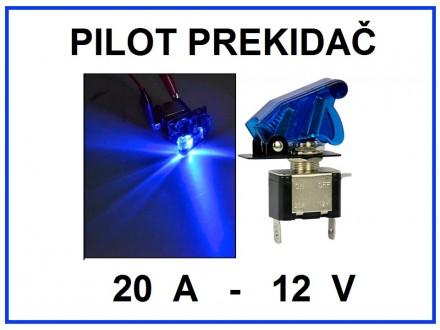 Pilot prekidac - PLAVI - 20A