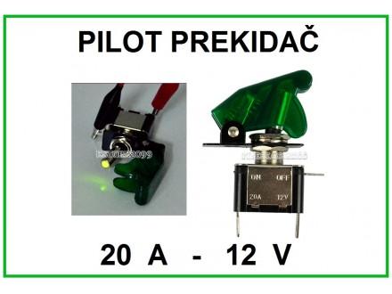 Pilot prekidac - ZELENI - 20A